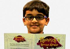 Ayaan Kapadia, India's youngest author, is just 10 years old!