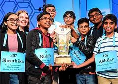 WOW! 7 Indian-American students crack Spell Bee