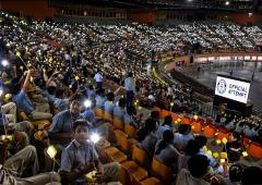 Gandhi@150: Students offer amazing solar lamp tribute!