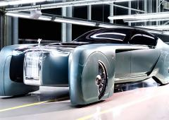 Rolls-Royce unveils its futuristic driverless car
