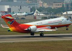 China's first home-made jet makes debut commercial flight