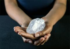 Largest uncut diamond may fetch $70 million!