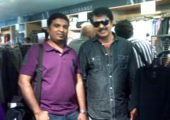 Spotted: Mammootty in New York