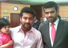 Spotted: Tamil actor Suriya in Dubai