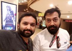 Spotted: Anurag Kashyap in Mumbai