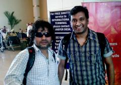 Spotted: Kailash Kher in Delhi