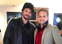 Spotted: Anil Kapoor in London