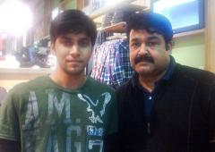 What was Lalettan doing in New Jersey?