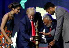 'President Trump loves Hindus and India'
