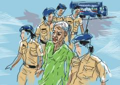 'Is that a terrorist or is that Indrani?!'