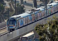 'An awesome experience': Hyderabad Metro opens to public