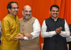 'Shiv Sena and BJP are twins'