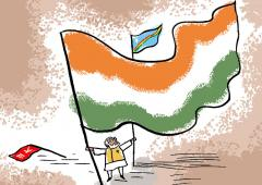 Will Modi give the Nagas a separate flag?