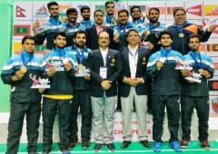 SAG: India men, women win badminton gold