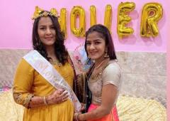 PIX: That's how Phogats celebrated Geeta's baby shower