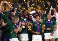 PM Modi congratulates SA on winning Rugby World Cup