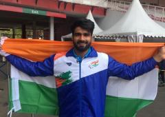 Sandeep wins gold in World Para Athletics