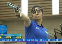 Shooting WC: Manu, Elavenil, Divyansh claim top honours