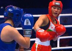 Boro gives India rousing start at World Women's Boxing
