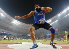 Shot putter Toor, 1500m runner Jinson flop at Worlds