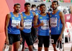 Mixed results for India at World Athletics