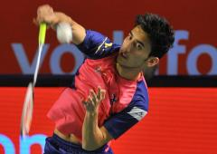 Lakshya Sen in Dutch Open semis