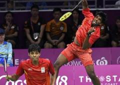 Sindhu, Saina exit; Satwik-Chirag in French Open SF
