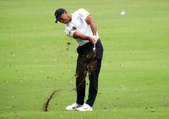 Woods sizzles in rain-hit Zozo Championship