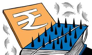 Fiscal deficit above target for 2nd month in a row