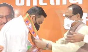 Another MP Cong MLA joins BJP ahead of bypolls