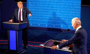 'Liar, clown': Trump, Biden clash in bitter debate