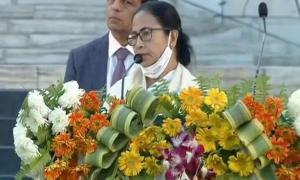 Riled by Jai Shri Ram slogans Mamata refuses to speak