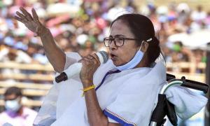 Mamata cancels poll meetings amid soaring COVID cases