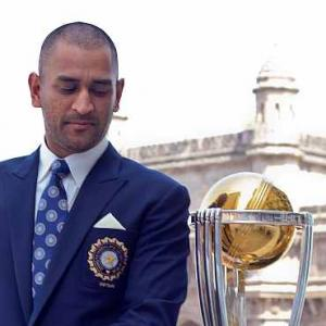 Dhoni in Time's 100 most influential list