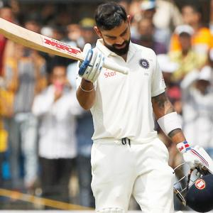 Stats: Kohli first Indian skipper to hit two double centuries