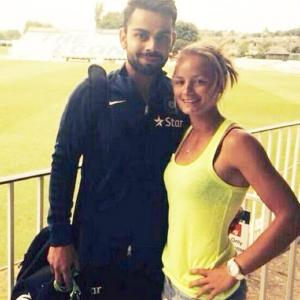Remember the English cricketer who proposed to Virat Kohli?
