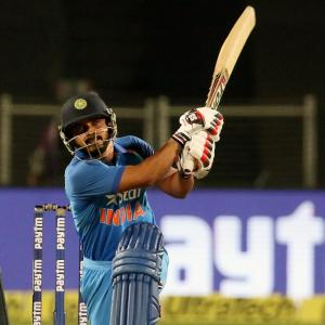 Can 'all-rounder' Jadhav nail a spot in the middle-order before WCup?