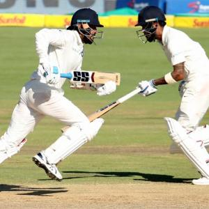 India off to a steady start after being set 287 for victory