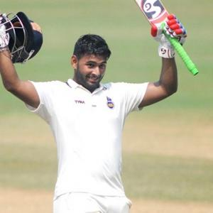 Rishabh Pant gets into record books on Test debut