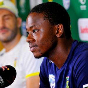 Gibson sure fiery Rabada will cool it in third Test
