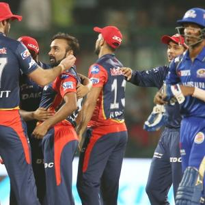 PHOTOS: Delhi Daredevils knock Mumbai Indians out of IPL