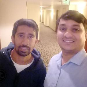 Spotted: Wriddhiman Saha and Shardul Thakur