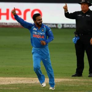 Jadhav proves to be India's surprise weapon vs Pakistan