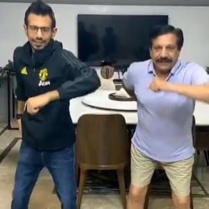 Lockdown dance: Can you shake it like Chahal, Dhawan?
