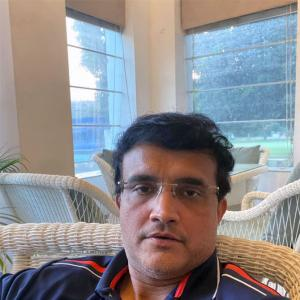 Rare 'free' time for Ganguly due to virus scare