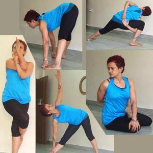 PICS: Yoga for flexibility