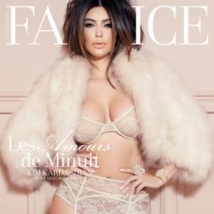 Kim's lingerie photoshoot and more fashion news!