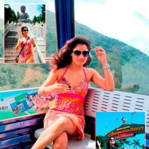IN PICS: Sandhya Mridul takes us on a tour of Hong Kong!