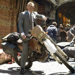 IN PICS: James Bond and his supersexy bikes