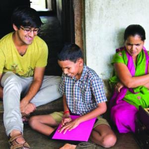 'There is a stigma attached to children with disabilities in rural India'